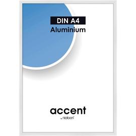 Nielsen Bilderrahmen Accent 52139 Aluminium 21x29,7cm weiß glanz Produktbild