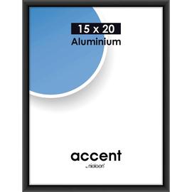 Nielsen Bilderrahmen Accent 51326 Aluminium 15x20cm schwarz matt Produktbild