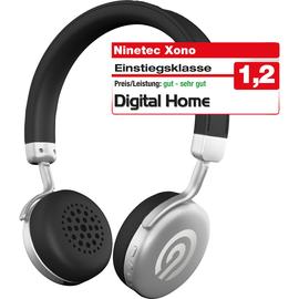 Ninetec Kopfhörer Xono Premium 4056409008204 Bluetooth  silber Produktbild