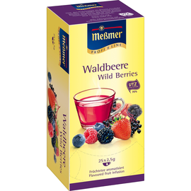 Meßmer Tee 105289 Waldbeere 25 Btl./Pack. (PACK=25 STÜCK) Produktbild