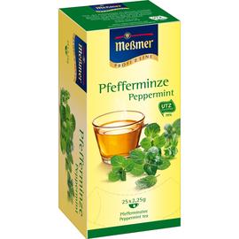 Meßmer Tee 105286 Pfefferminze 25 Btl./Pack. (PACK=25 STÜCK) Produktbild