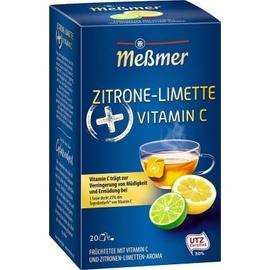 Meßmer Tee Limette/Zitrone + Vitamin C 105023 20 St./Pack. (PACK=20 STÜCK) Produktbild