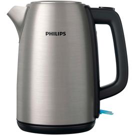 Philips Wasserkocher Daily HD9351/90 2.200W 1,7l Edelstahl Produktbild