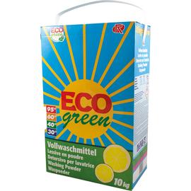 Eco green Vollwaschmittel 11136 100 Waschladungen ws 10 KG (PACK=10 KILOGRAMM) Produktbild