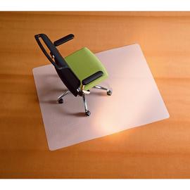Bodenschutzmatte BSM für Teppichböden Form O rechteckig 90x120 2,0mm transparent / milchig RS 01-0900 Produktbild
