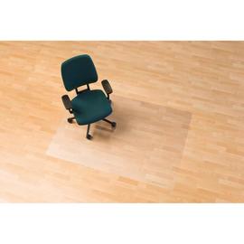 Bodenschutzmatte ecoblue für Hart- böden Form O rechteckig 120x75cm, 1,8mm stark transparent PET RS 08-0750 Produktbild