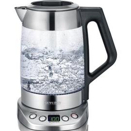SEVERIN Wasserkocher Deluxe WK 3479 3.000W 1,7l Glas/Edelstahl Produktbild