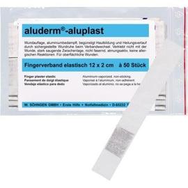 aluderm Fingerverband 1009164 12x2cm 50 St./Pack. (PACK=50 STÜCK) Produktbild