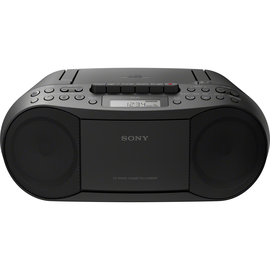 Sony CD/Kassetten-Radiorecorder CFD-S70B schwarz Produktbild