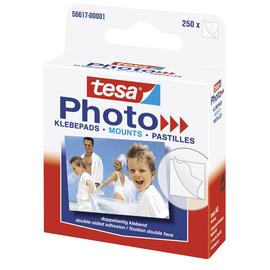 tesa Klebepad Photo 56617-00001 12x13mm weiß 250 St./Pack (PACK=250 STÜCK) Produktbild