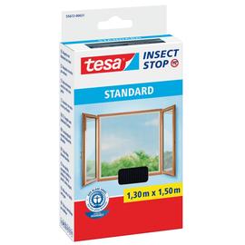 Fliegengitter Standard für Fenster 1,3 x 1,5m anthrazit Tesa 55672-00021 Produktbild