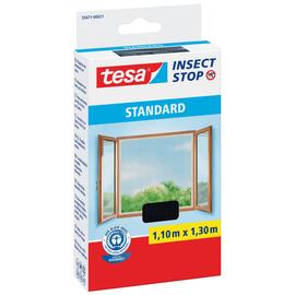 Fliegengitter Standard für Fenster 1,1m x 1,3m anthrazit Tesa 55671-00021 Produktbild
