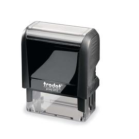 trodat Textstempel PRINTY 4912 4.0 47x18mm Kunststoff sw Produktbild