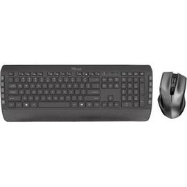 Trust Tastatur-Maus-Set Tecla-2 23415 Funk Produktbild