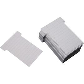Ultradex T-Karte 542157 60x85mm hl.grau 100 St./Pack. (PACK=100 STÜCK) Produktbild