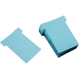 Ultradex T-Karte 542156 60x85mm blau 100 St./Pack. (PACK=100 STÜCK) Produktbild