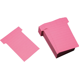 Ultradex T-Karte 542154 60x85mm rosa 100 St./Pack. (PACK=100 STÜCK) Produktbild