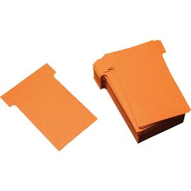 Ultradex T-Karte 542152 60x85mm rotorange 100 St./Pack. (PACK=100 STÜCK) Produktbild