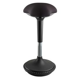 UNILUX Sitzhocker MOOVE 400110242 höhenverst. sw Produktbild