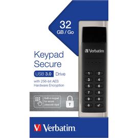 Verbatim USB-Stick Keypad Secure 49427 USB3.0 32GB Produktbild