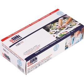 ULITH Einweghandschuh 816631 M Vinyl natur 100 St./Pack. (PACK=100 STÜCK) Produktbild