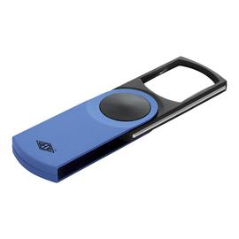 WEDO Lupe SWING-IT 2717603 beleuchtet 3fach blau Produktbild