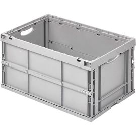 ALUTEC Faltbox 05100 geschlossen 400x600x320mm 64l grau Produktbild