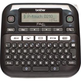 P-touch Beschriftungsgerät D210 PTD210ZG1 3,5-12mm QWERTZ Produktbild