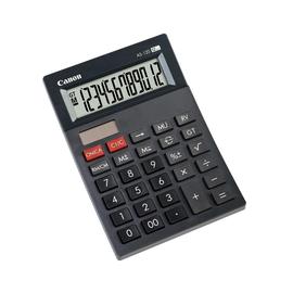 Canon Taschenrechner AS-120 4582b001 12Zeichen sw Produktbild
