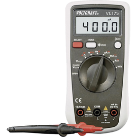 VOLTCRAFT Hand-Multimeter VC175 digital Anzeige/Counts: 4.000 Produktbild