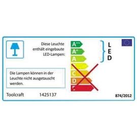 TOOLCRAFT Lupenleuchte SMD-LED 1425137 Ø 100mm Radius 45cm Produktbild