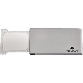 TOOLCRAFT Handlupe 1457115 2xLinsengröße LED 44x39mm Produktbild