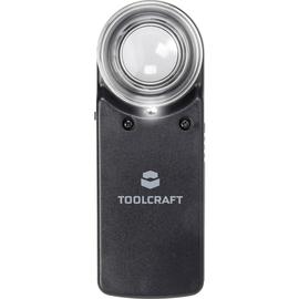TOOLCRAFT Handlupe 1303080 15xLinsengröße 20mm Produktbild