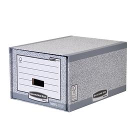 Bankers Box Schubladenarchiv System 01820EU grau/weiß Produktbild