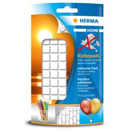 HERMA Klebepads 1350 weiß 54 St./Pack. (PACK=54 STÜCK) Produktbild