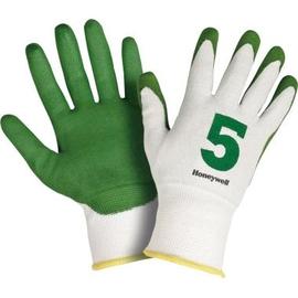Honeywell Schnittschutzhandschuh Check & Go Green PU 5 Gr.10 1Paar Produktbild