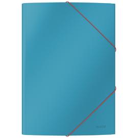 Leitz Eckspannermappe Cosy 30020061 A4 Karton blau Produktbild