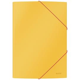Leitz Eckspannermappe Cosy 30020019 A4 Karton gelb Produktbild