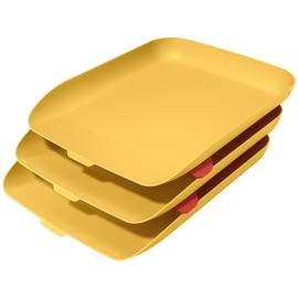 Leitz Briefkorb Cosy 53582019 A4 PS gelb 3 St./Pack. (PACK=3 STÜCK) Produktbild