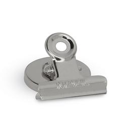 MAUL Briefklemmer 2184096 40mm nickel 2 St./Pack. (PACK=2 STÜCK) Produktbild