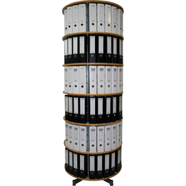 Reef Ordnersäulen Typ R2 R2081BB6 81cm 6Etagen buche Dekor Produktbild