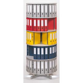 Reef Ordnersäule Typ R2 R2081B5 81cm 5Etagen lichtgrau Produktbild