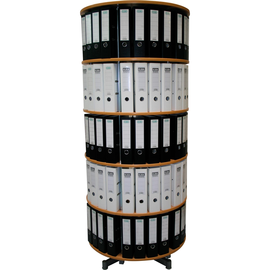 Reef Ordnersäule Typ R2 R2081BB5 81cm 5Etagen buche Dekor Produktbild