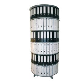 Reef Ordnersäule R2100B6 100cm 6Etagen lichtgrau Produktbild