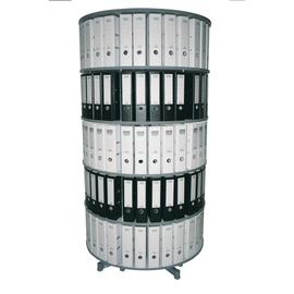 Reef Ordnersäule R2100B5 100cm 5Etagen lichtgrau Produktbild