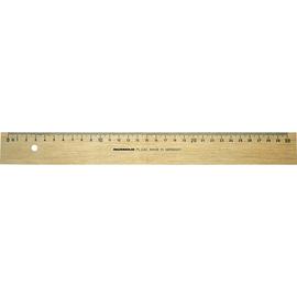 RUMOLD Holzlineal FL232/30 aus Weißbuche 30cm natur Produktbild