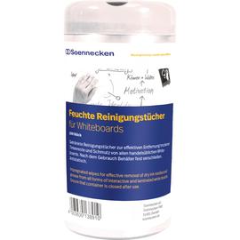 Reinigungstücher für Whiteboards feucht Spenderdose Soennecken 4829 (PACK=100 STÜCK) Produktbild