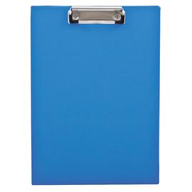 Klemmbrett 23,6x32,1cm Klemme silber Polypropylen blau Produktbild
