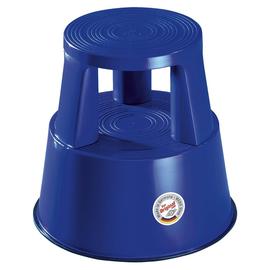 WEDO Rollhocker Step 212203 290mm Kunststoff blau Produktbild