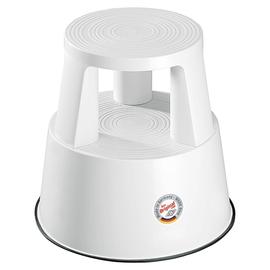 WEDO Rollhocker Step 212200 290mm Kunststoff weiß Produktbild